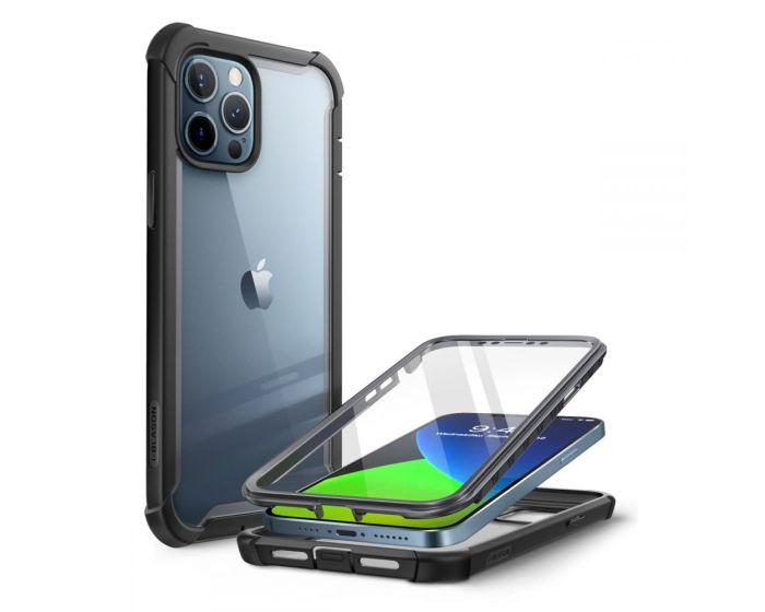 i-Blason Ανθεκτική Θήκη Ares Full Body Case With Built-In Screen Protector Black (iPhone 12 Pro Max)