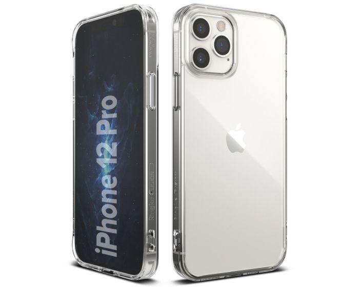 Ringke Fusion Σκληρή Θήκη με TPU Bumper Clear (iPhone 12 / 12 Pro)