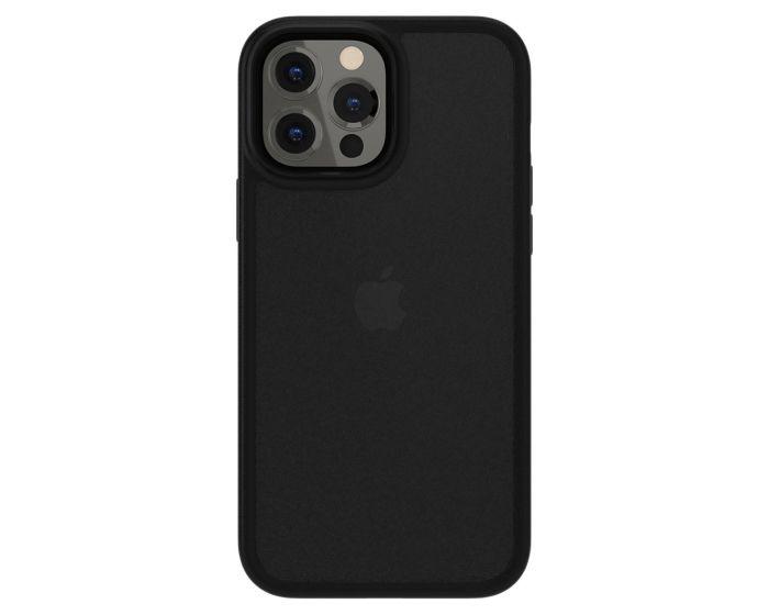 SwitchEasy Aero+ 0.38mm Shockproof Hybrid Case (GS-103-210-232-173) Frosty Black (iPhone 13 Pro Max)