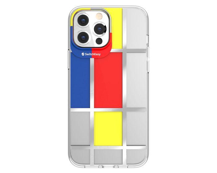 SwitchEasy Artist Hybrid Case (GS-103-210-208-129) Mondrian (iPhone 13 Pro Max)