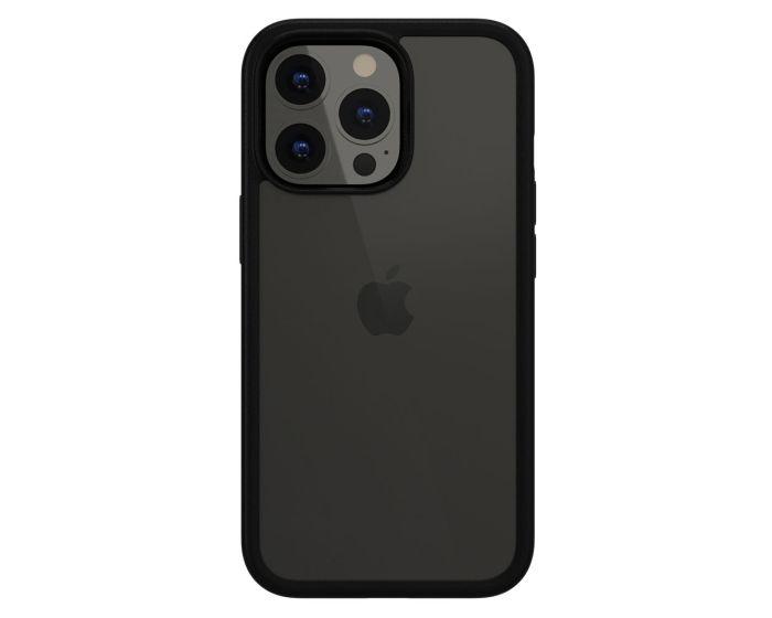 SwitchEasy Aero+ 0.38mm Shockproof Hybrid Case (GS-103-209-232-174) Clear Black (iPhone 13 Pro)