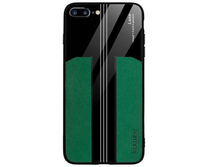 Bodycell Acrylic Back Cover Case Θήκη - Πράσινο (iPhone 7 Plus / 8 Plus)