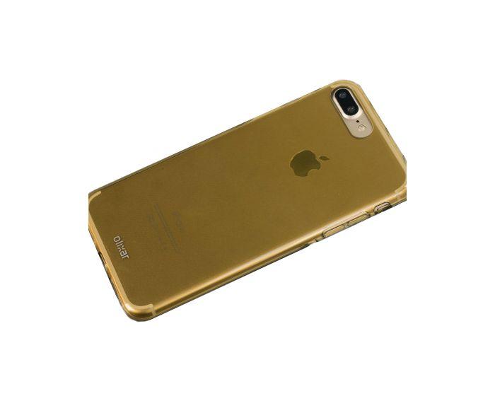 Olixar FlexiShield Θήκη Σιλικόνης Ημιδιάφανη Χρυσή (iPhone 7 Plus / 8 Plus)