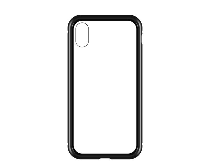 Wozinsky Magneto Full Body Bumper Case - Μαγνητική Θήκη Clear / Black (iPhone XR)