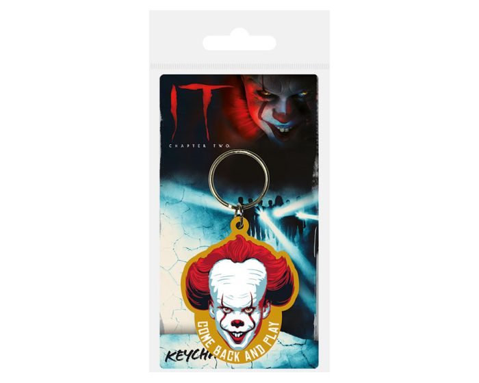 IT Chapter Two (Come Back and Play) Rubber Keychain - Μπρελόκ