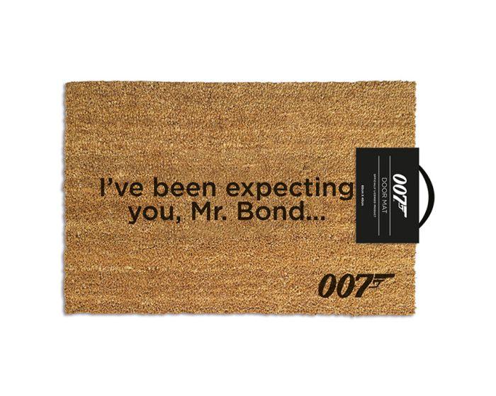 James Bond (I've Been Expecting You) Door Mat - Πατάκι Εισόδου 40x60cm