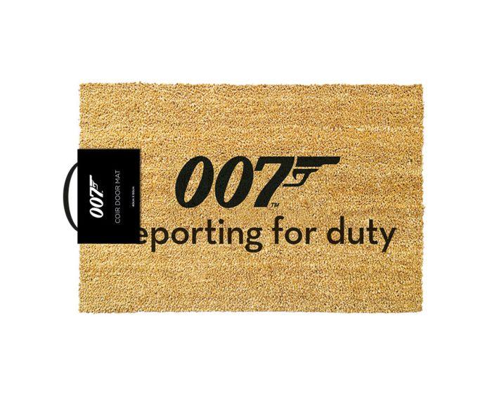James Bond (Reporting For Duty) Door Mat - Πατάκι Εισόδου 40x60cm