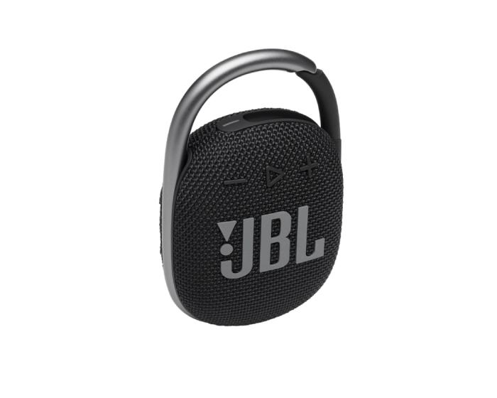 JBL Clip 4 Bluetooth Speaker Αδιάβροχο Φορητό Ηχείο Black