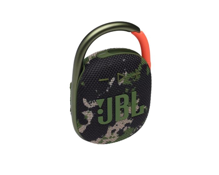 JBL Clip 4 Bluetooth Speaker Αδιάβροχο Φορητό Ηχείο Squad