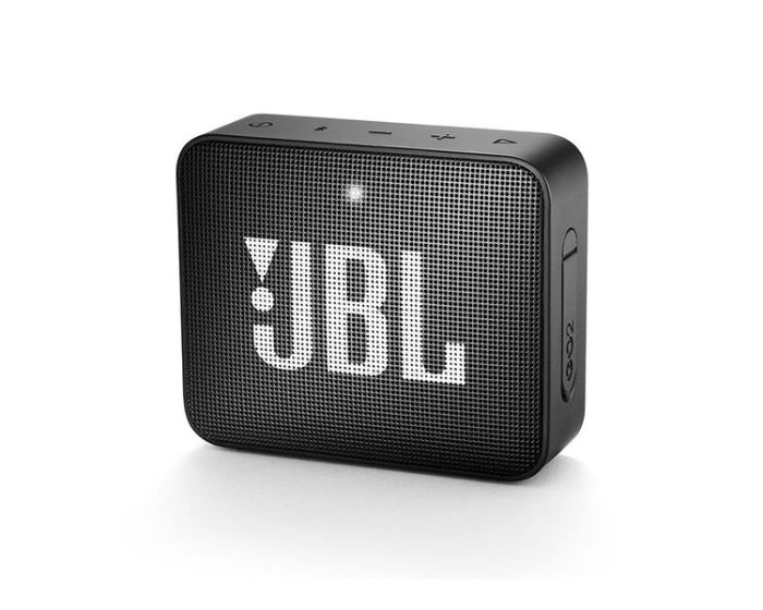 JBL Go 2 Bluetooth Speaker Αδιάβροχο Φορητό Ηχείο Black