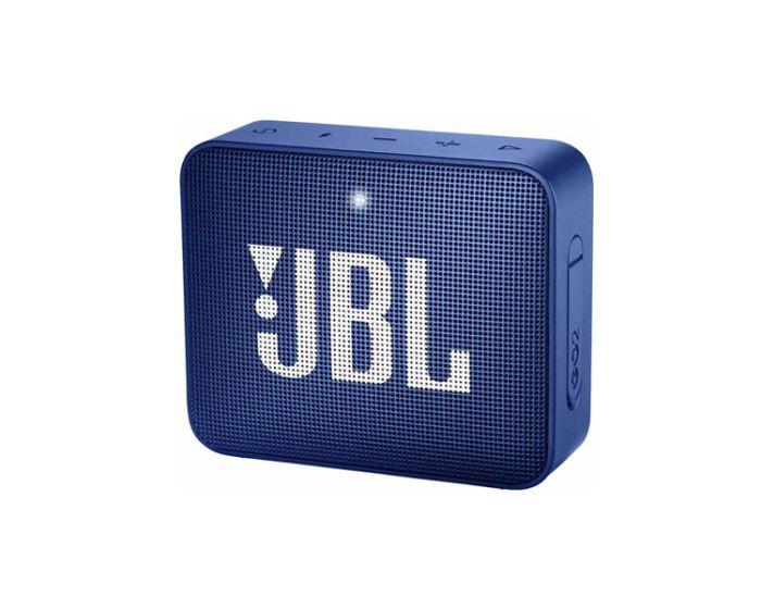 JBL Go 2 Bluetooth Speaker Αδιάβροχο Φορητό Ηχείο Blue