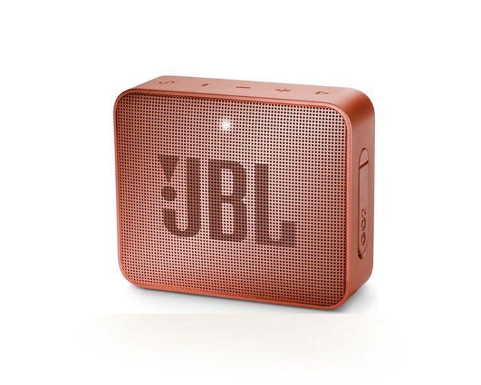 JBL Go 2 Bluetooth Speaker Αδιάβροχο Φορητό Ηχείο Cinnamon