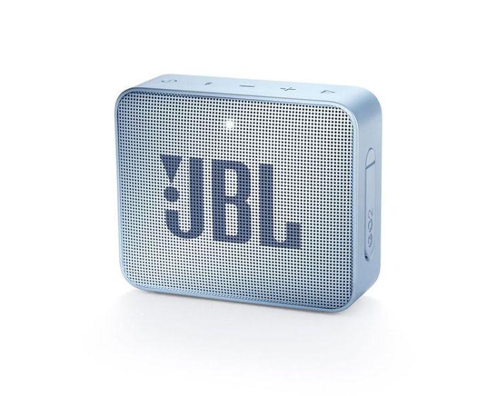 JBL Go 2 Bluetooth Speaker Αδιάβροχο Φορητό Ηχείο Cyan