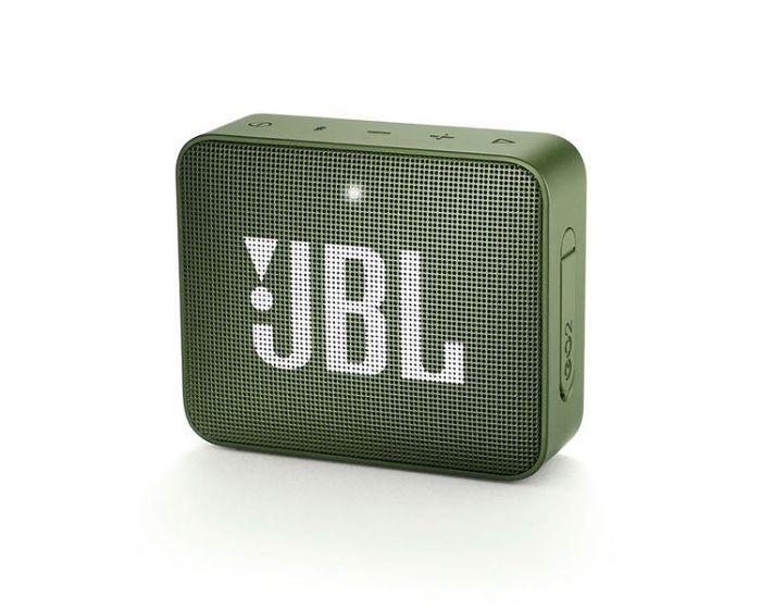 JBL Go 2 Bluetooth Speaker Αδιάβροχο Φορητό Ηχείο Green