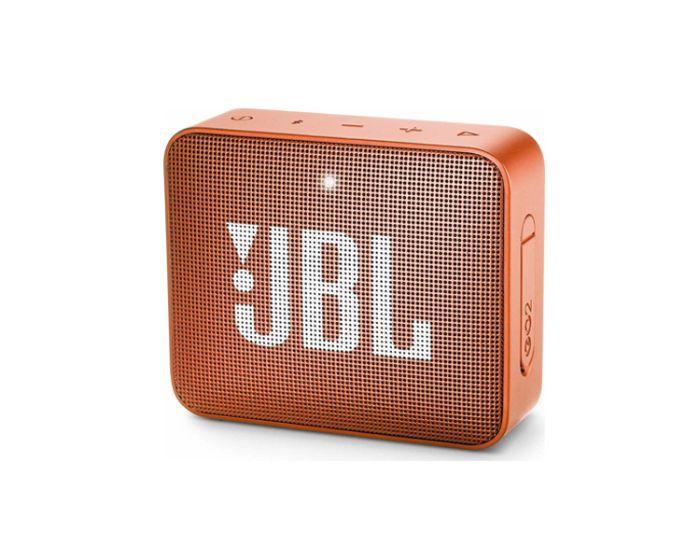JBL Go 2 Bluetooth Speaker Αδιάβροχο Φορητό Ηχείο Orange