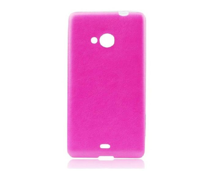 Leather Pattern Jelly Case Pink (LG G4c / LG Magna)