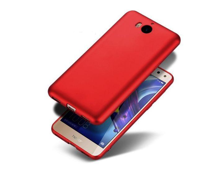 Jelly Case Θήκη Σιλικόνης Metallic Dark Red (Huawei Y5 2017 / Y6 2017)