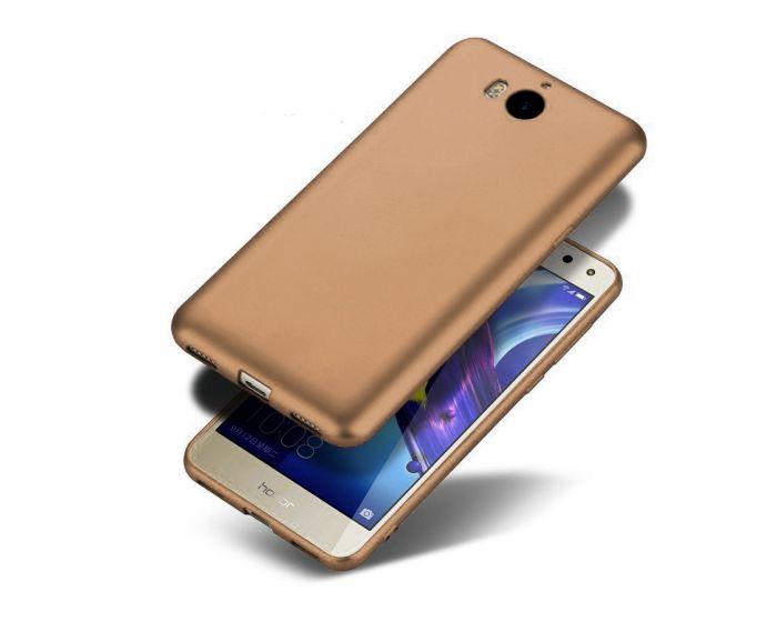 Jelly Case Θήκη Σιλικόνης Metallic Gold (Huawei Y5 2017 / Y6 2017)