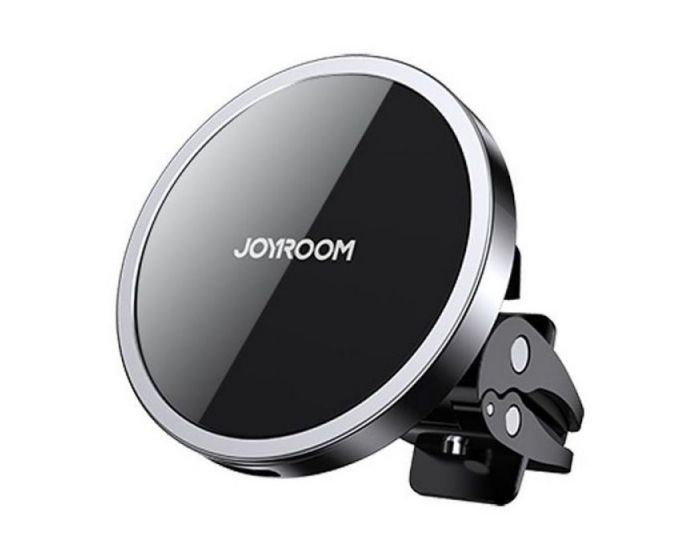 Joyroom JR-ZS240 Magnetic MagSafe Car Mount Phone Charger for Air Vent - Black