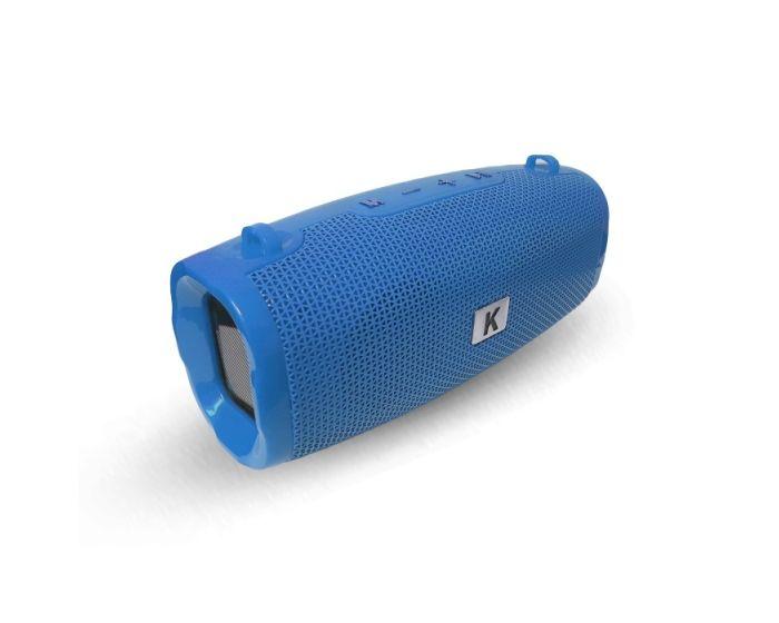 K21 Bluetooth Speaker Tuba Battery 2400 3W Ασύρματο Ηχείο - Dark Blue