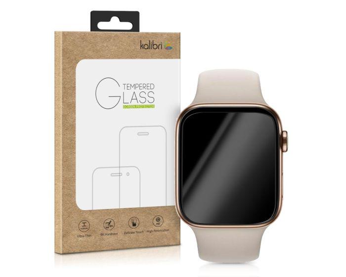 Kalibri Tempered Glass Curved Black (46574.1) Αντιχαρακτικό Γυαλί για το Apple Watch - 40mm (Series 4/5/6/SE)