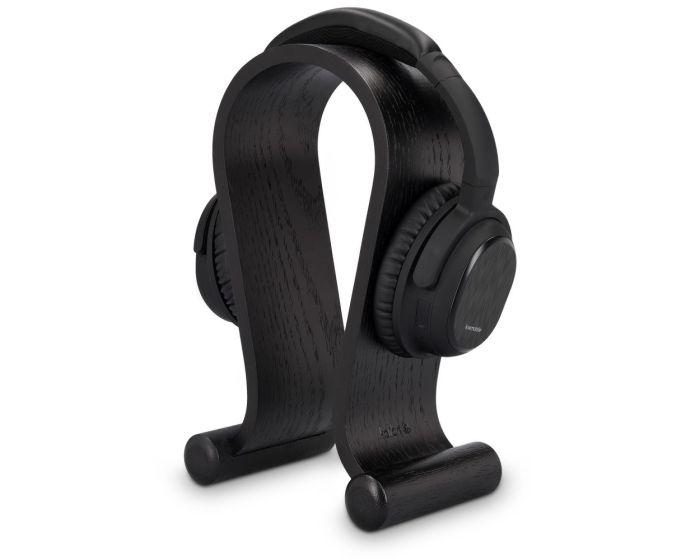 Kalibri Wooden Omega Design Headphone Stand Ξύλινη Βάση Στήριξης Ακουστικών (39069.01) Oak Black