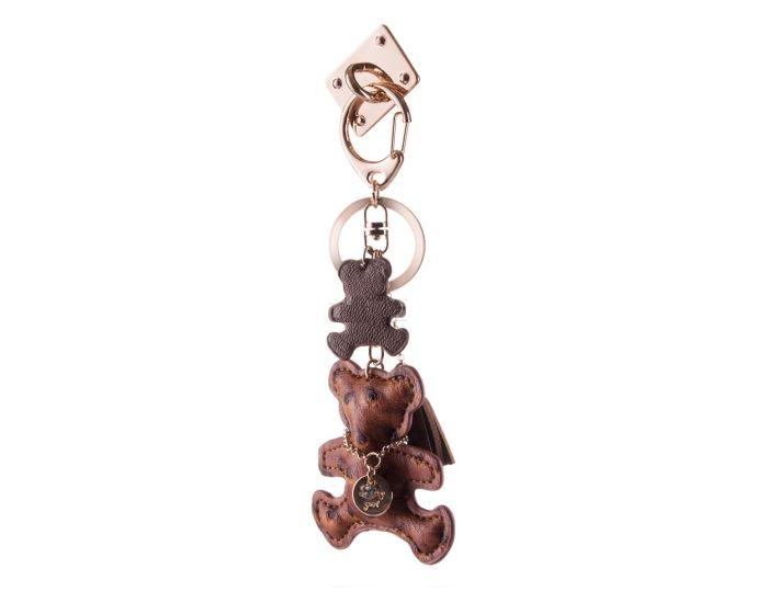 HURTEL iRing Keychain - Δαχτυλίδι Συγκράτησης Μπρελόκ Brown Bear