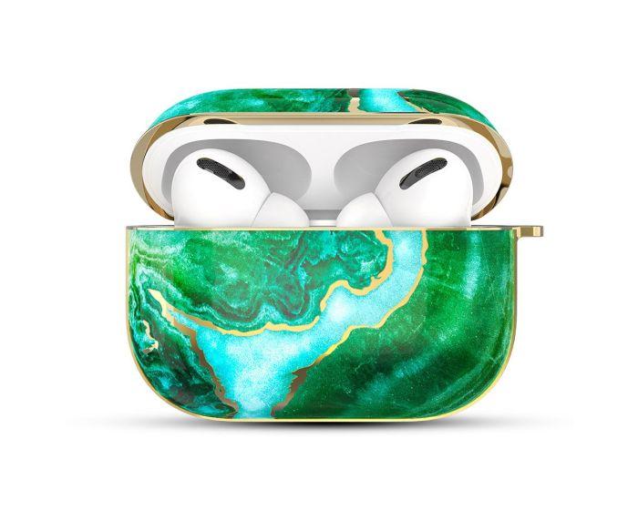 Kingxbar Jade Protector Silicone Case για τα Apple AirPods Pro - Green