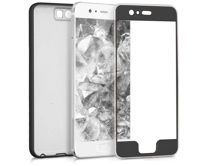 KWmobile 360 Full Cover TPU Case (42880.68) Metallic Black (Huawei P10)