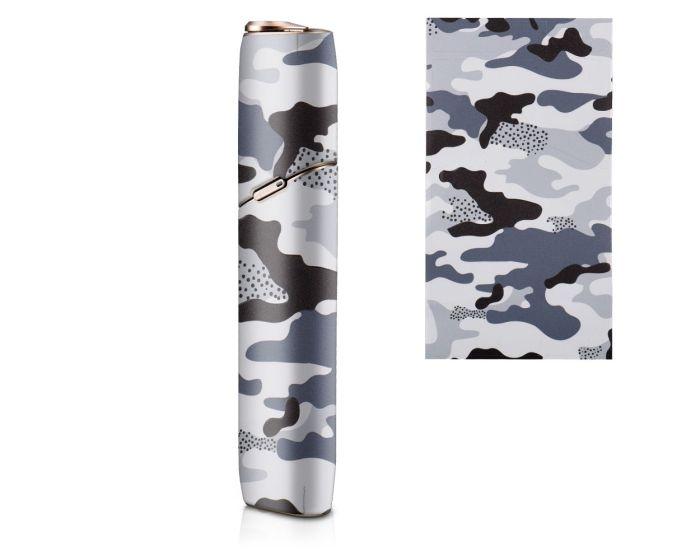 KWmobile Adhesive Decal Thin Protection Wrap (47201.01) Αυτοκόλλητο για το IQOS 3 Multi - Camo Blue