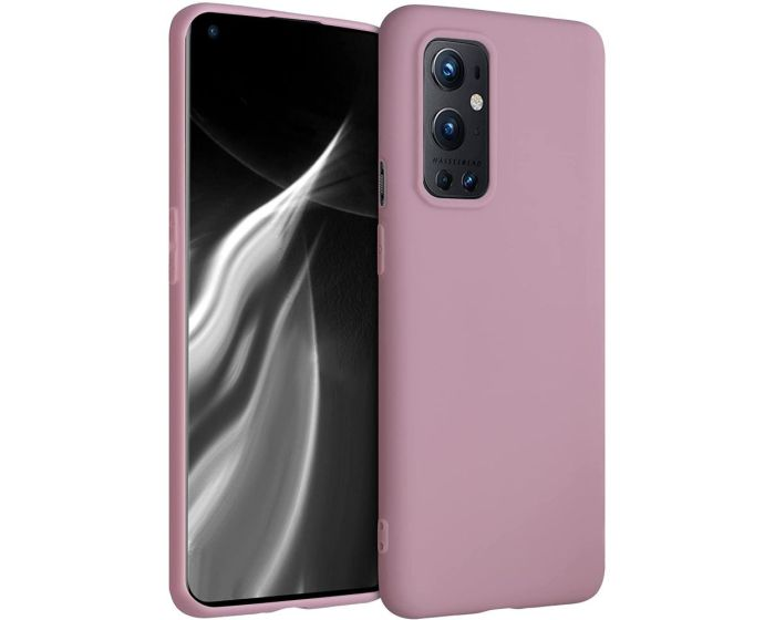 KWmobile TPU Silicone Case (54427.52) Antique Pink Matte (OnePlus 9 Pro)