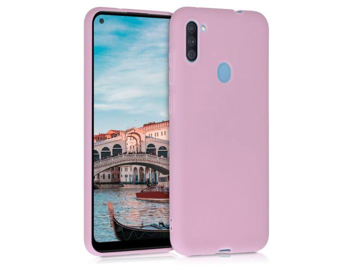 KWmobile TPU Silicone Case (52169.52) Antique Pink Matte (Samsung Galaxy A11)