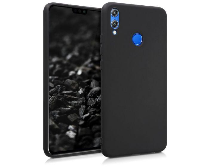 KWmobile TPU Silicone Case (46346.47) Black Matte (Huawei Honor 8X)