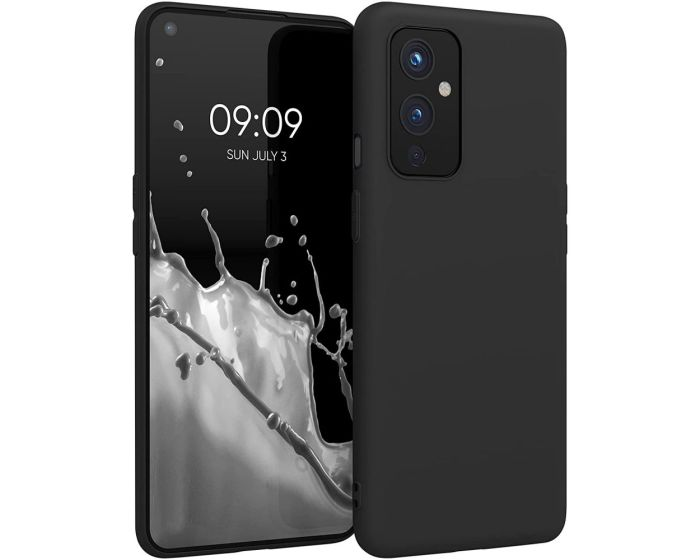 KWmobile TPU Silicone Case (54426.47) Black Matte (OnePlus 9)