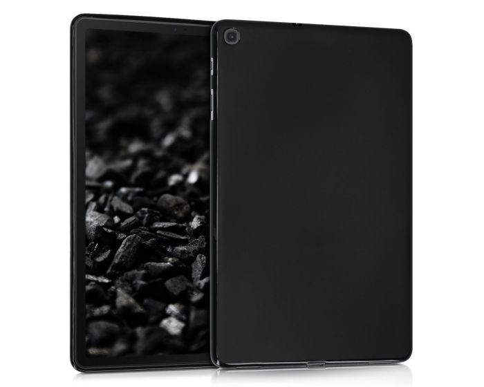 KWmobile TPU Silicone Case (47843.47) Black Matte (Samsung Galaxy Tab A 10.1 2019)