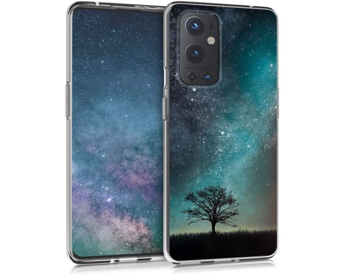 KWmobile Slim Fit Gel Case with UV Print (54512.01) Cosmic Nature (OnePlus 9 Pro)
