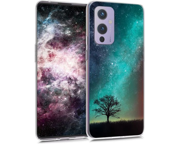 KWmobile Slim Fit Gel Case with UV Print (54511.01) Cosmic Nature (OnePlus 9)