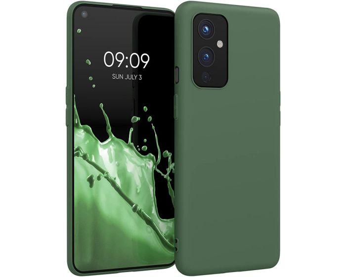 KWmobile TPU Silicone Case (54426.80) Dark Green (OnePlus 9)