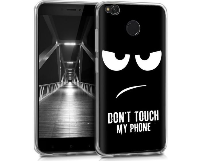 KWmobile TPU Silicone Case (43582.01) Don't Touch my Phone (Xiaomi Redmi 4X)