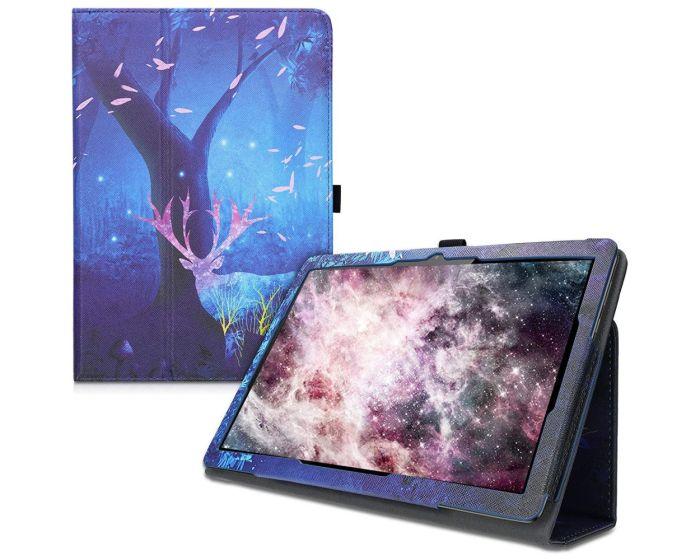 KWmobile Θήκη Folio Stand Case (46111.14) Mystical Forest (Huawei MediaPad T5 10.1'')