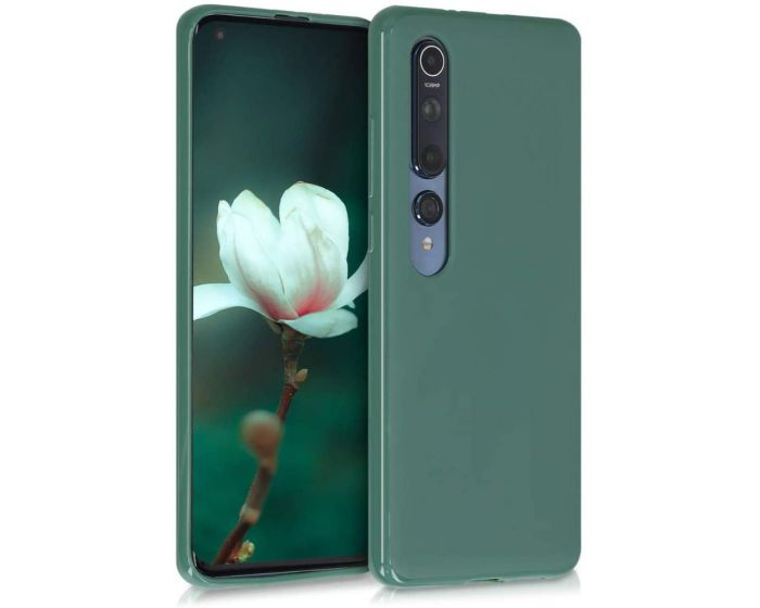 KWmobile TPU Silicone Case (51803.166) Forest Green (Xiaomi Mi 10 / Mi 10 Pro)