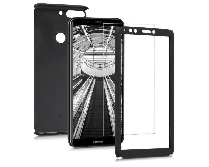 KWmobile 360 Full Cover Case (45640.68) Metallic Black (Huawei Y7 2018 / Y7 Prime 2018)