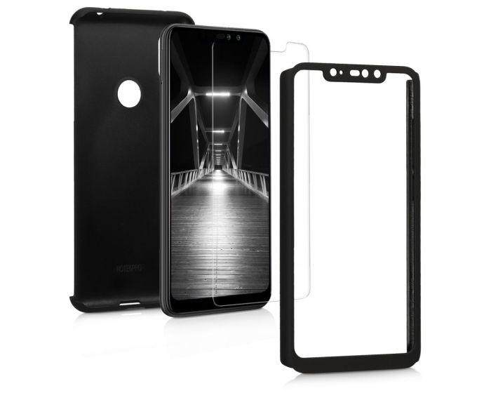 KWmobile 360 Full Cover Case (46507.68) Metallic Black (Xiaomi Redmi Note 6 Pro)