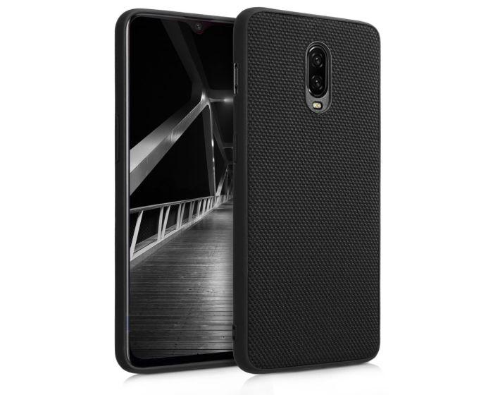 KWmobile Heavy Duty Nylon Back Case (46330.01) Black (OnePlus 6T)