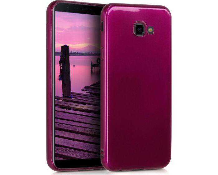 KWmobile TPU Silicone Case (47121.117) High Gloss Purple (Samsung Galaxy J4 Plus 2018)