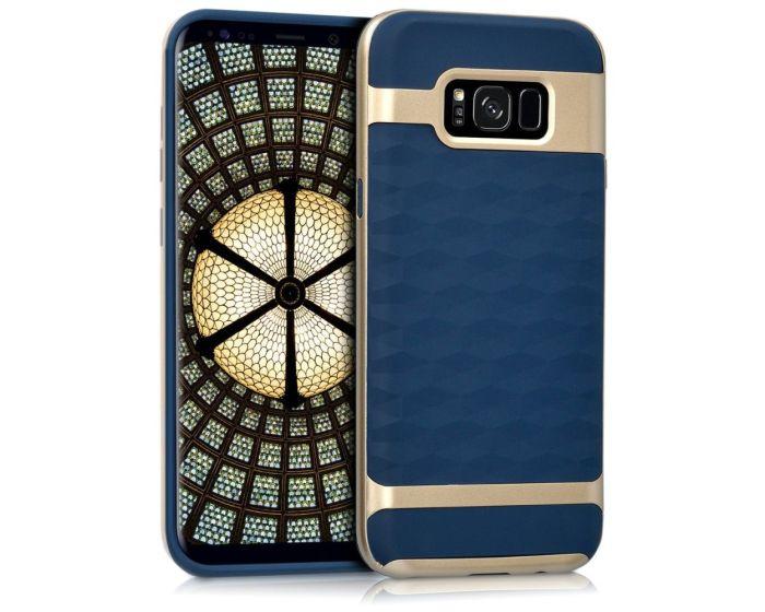 KWmobile Hybrid Honeycomb Touch Θήκη (41681.17) Blue / Gold (Samsung Galaxy S8 Plus)