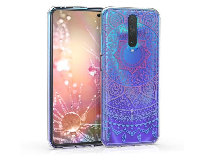 KWmobile Slim Fit Gel Case Indian Sun (51284.02) Θήκη Σιλικόνης  Ροζ / Διάφανο (Xiaomi Redmi K30)