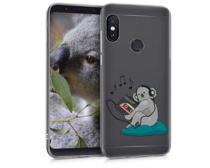 KWmobile Slim Fit Gel Case Koala (45449.03) Θήκη Σιλικόνης (Xiaomi Redmi Note 5)