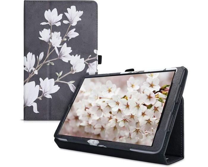 KWmobile Θήκη Folio Stand Case (49946.03) Magnolia Grey (Samsung Galaxy Tab A 10.1 2019)