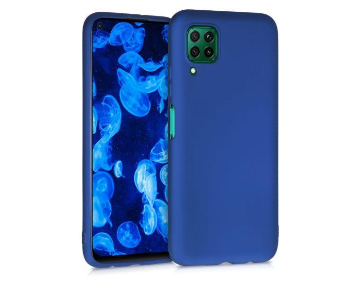 KWmobile TPU Silicone Case (52330.64) Metallic Blue (Huawei P40 Lite)